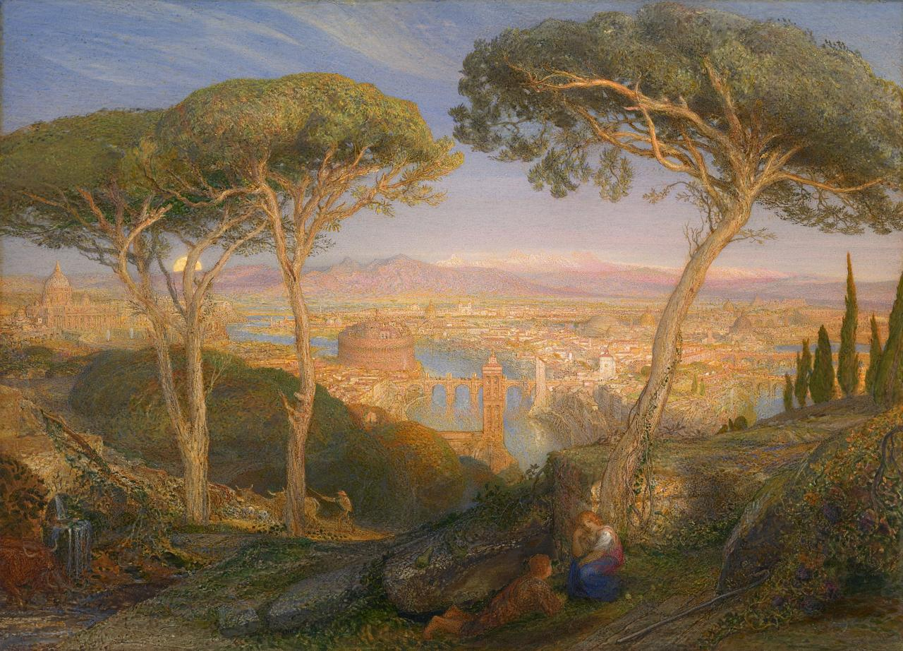 The Golden City: Rome from the Janiculum