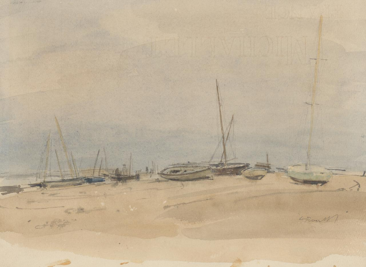 Low tide, Blakeney