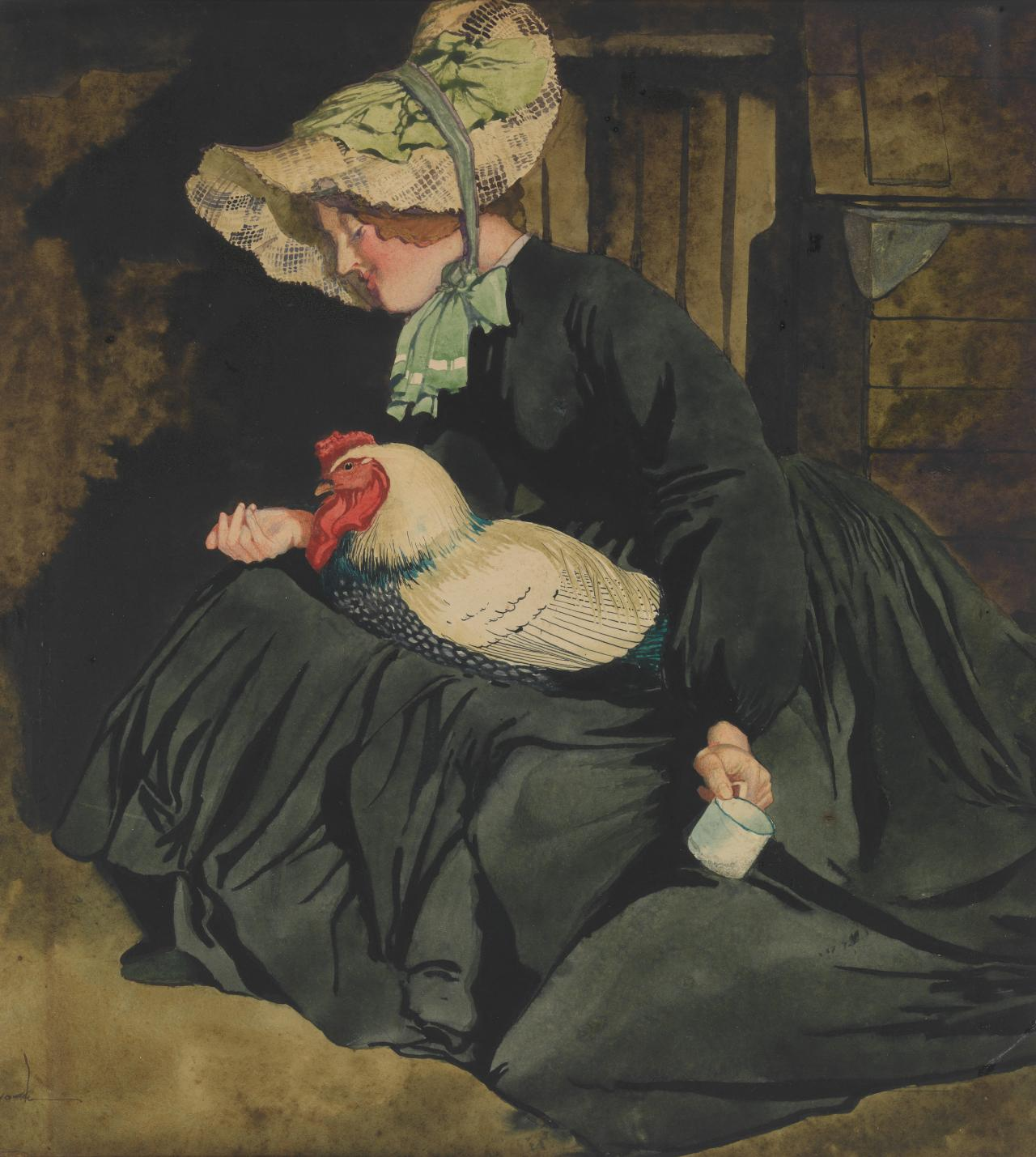 The chook lady