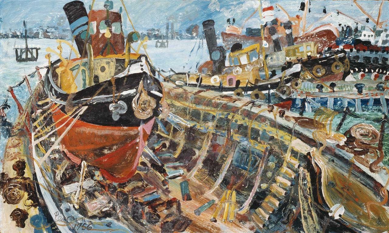 Tug boat in a boat | John PERCEVAL | NGV | View Work