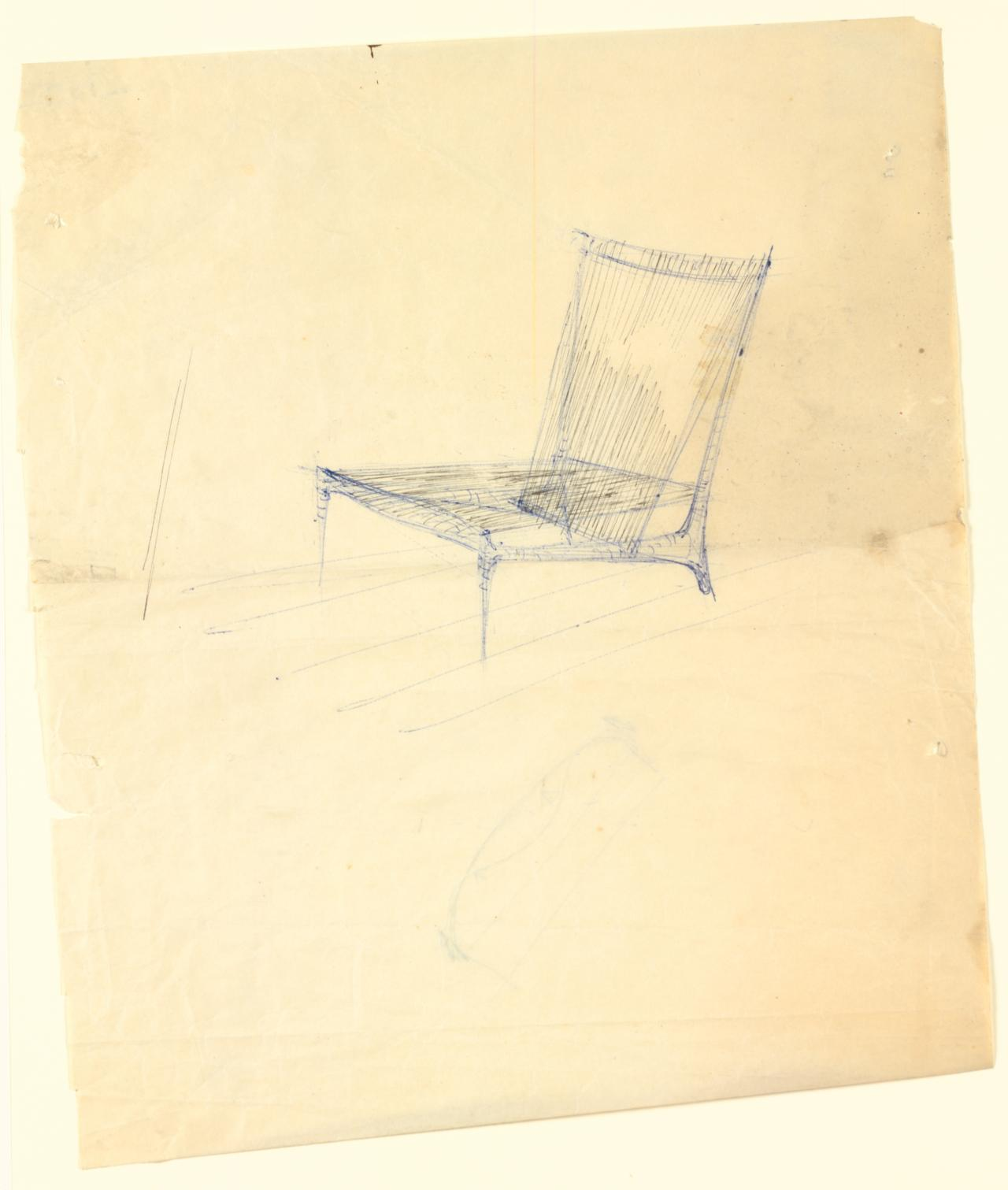 Study for the cord chair
