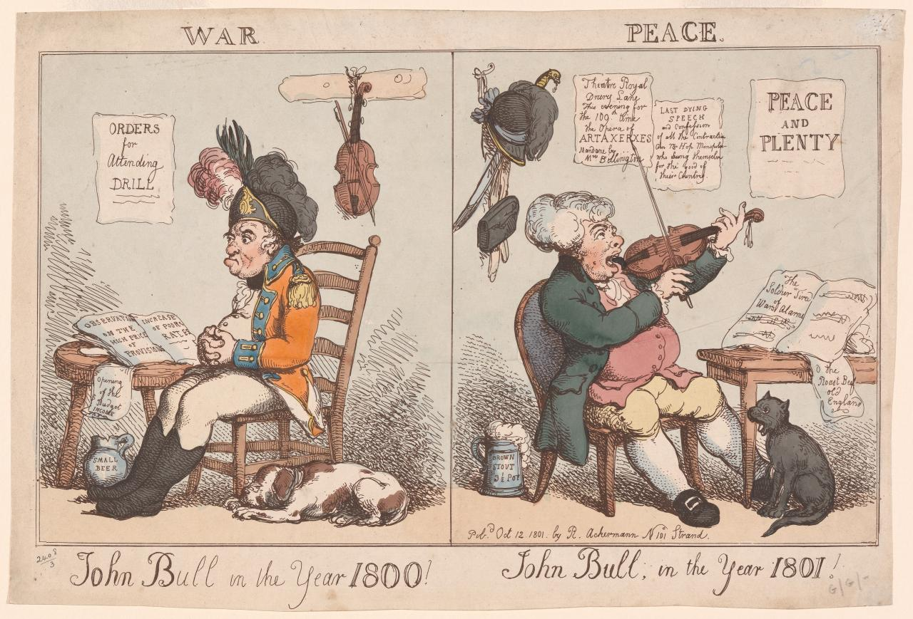 John Bull in the Year 1800...