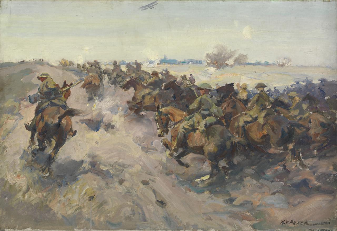 Cavalry charge at Cambrai