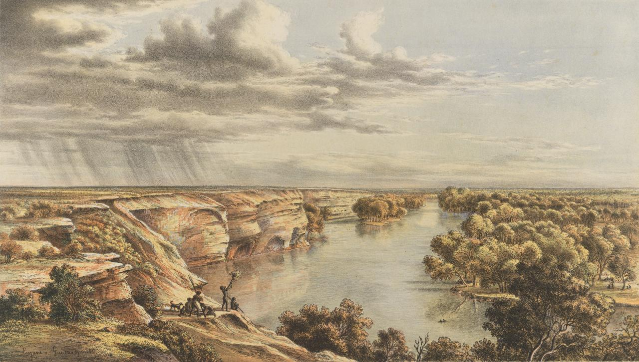 Murray River, Moorundi