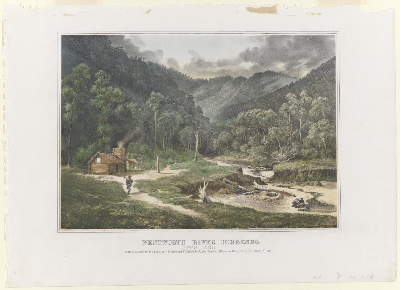 Wentworth River diggings, Gippsland