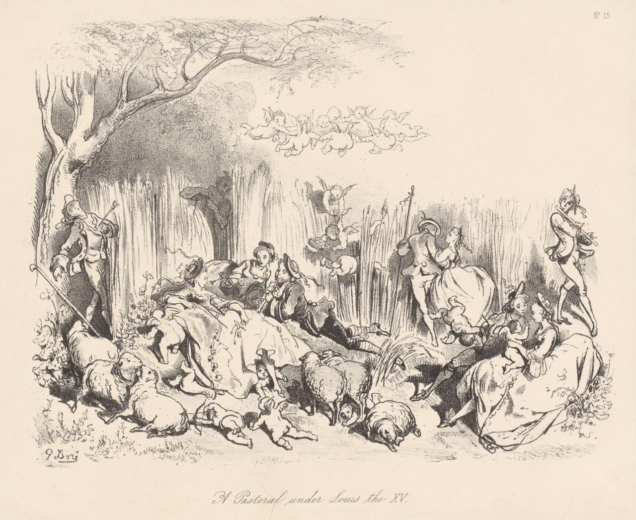 A Pastoral Under Louis the XV