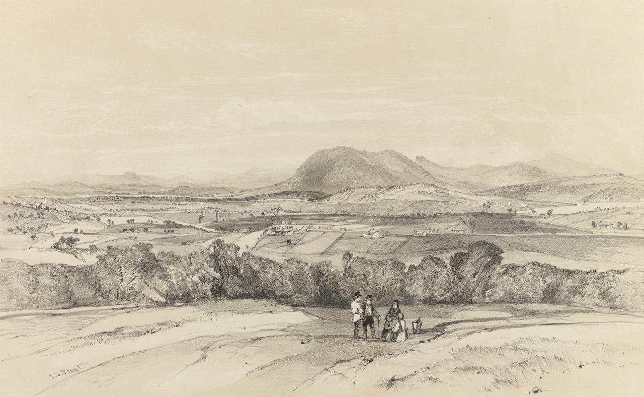 New Town, Mount Direction, Van Diemen's Land
