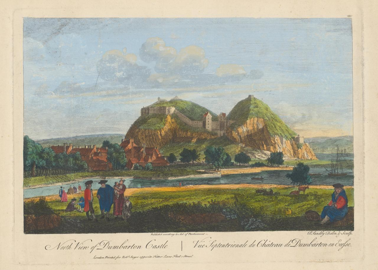 North view of Dumbarton Castle