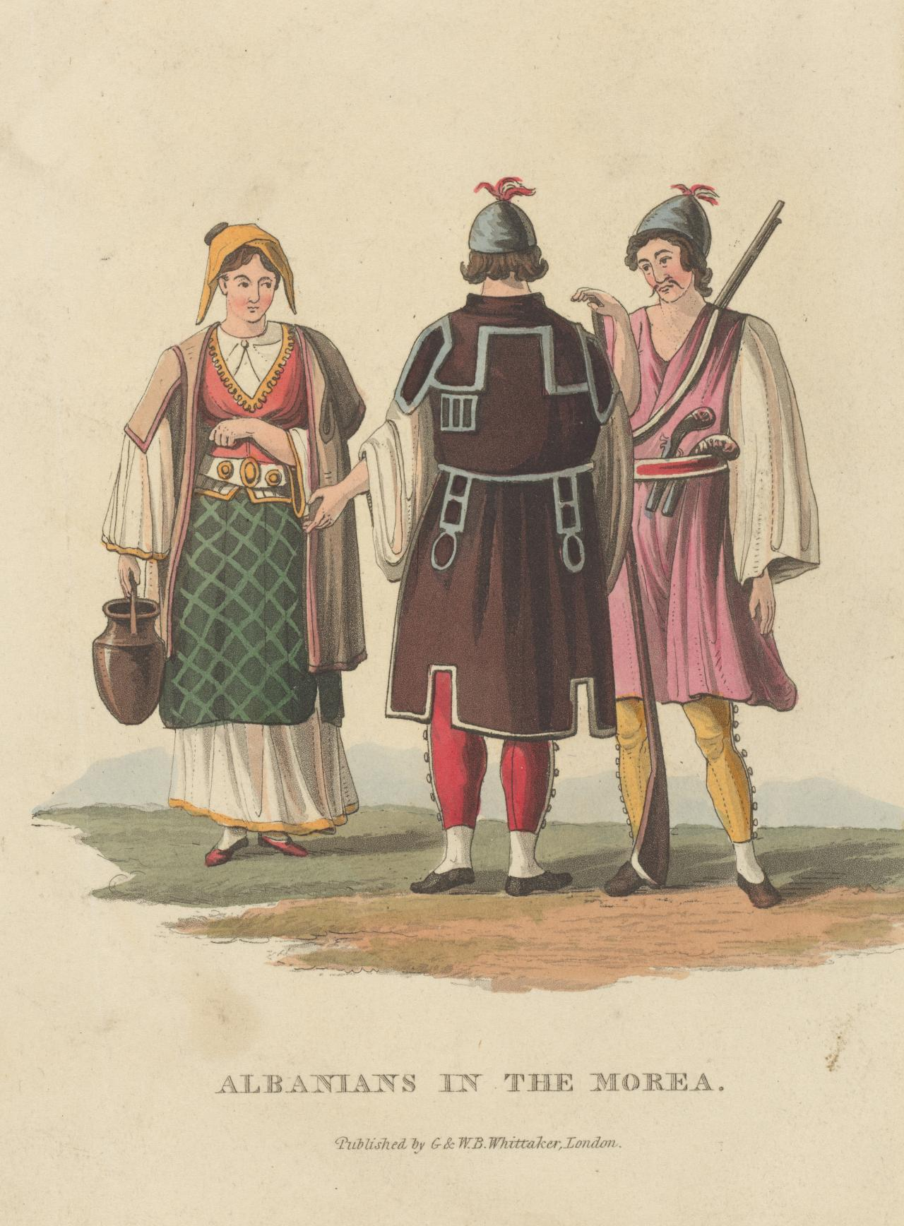 Albanians in the Morea