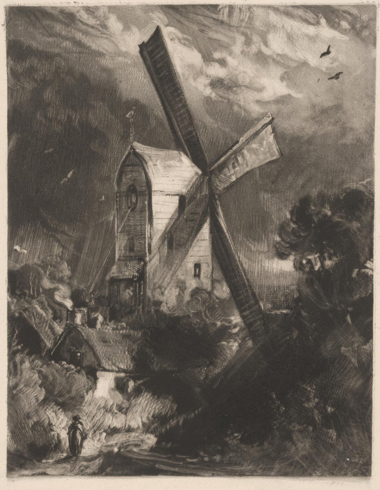 A mill near Brighton