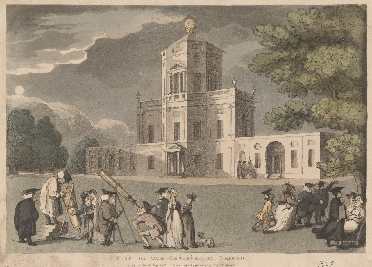 View of the observatory, Oxford