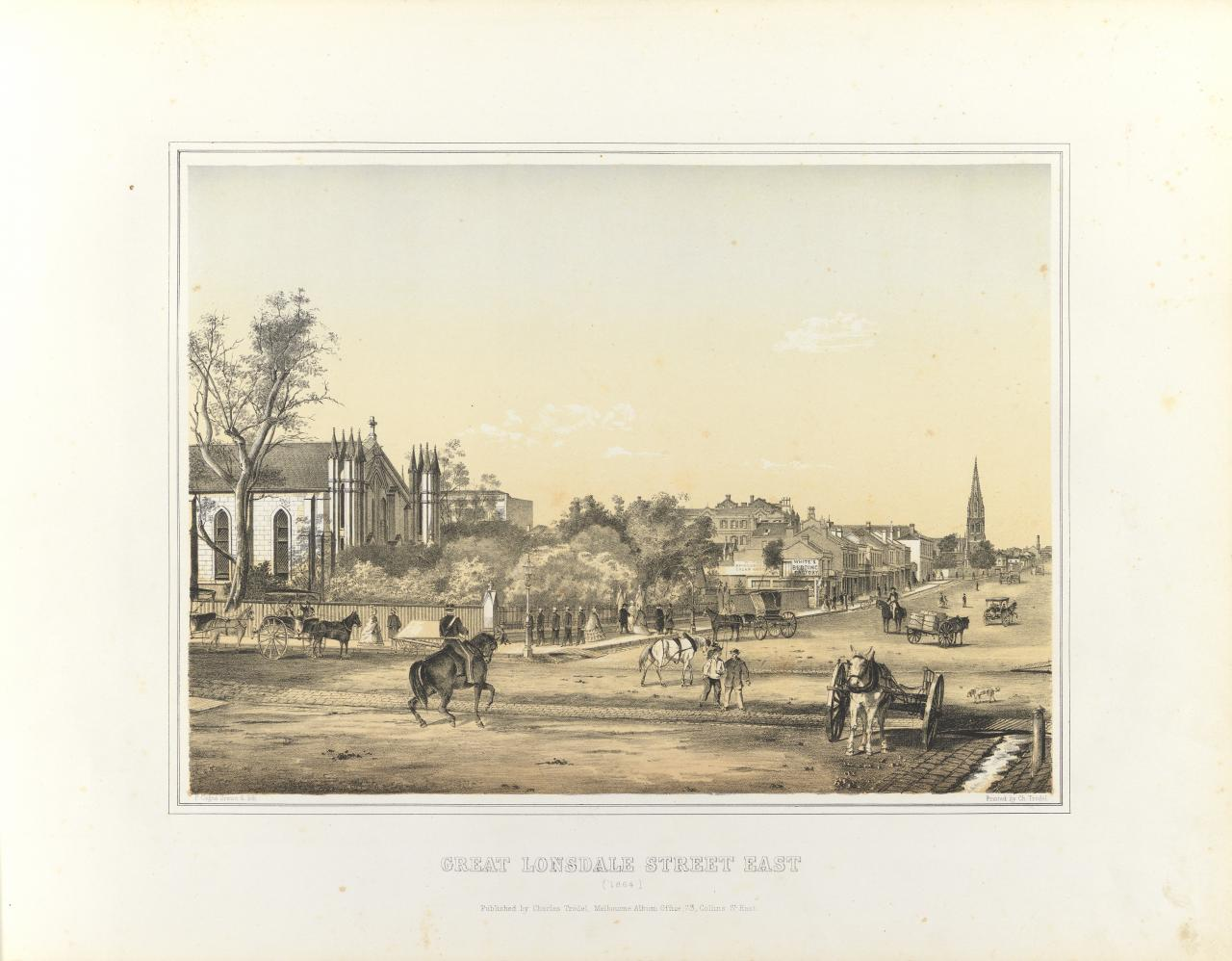 Great Lonsdale Street East 1864