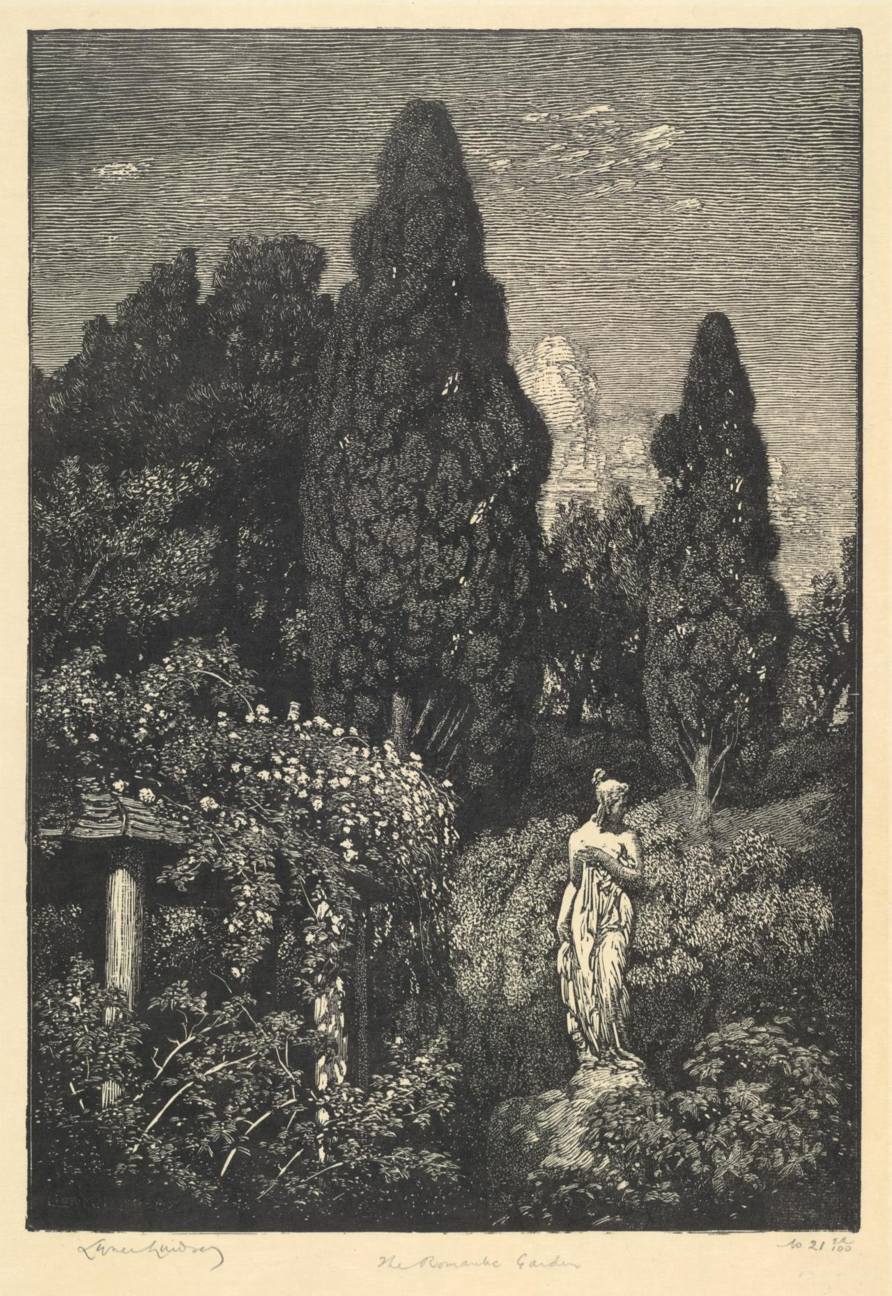 The romantic garden