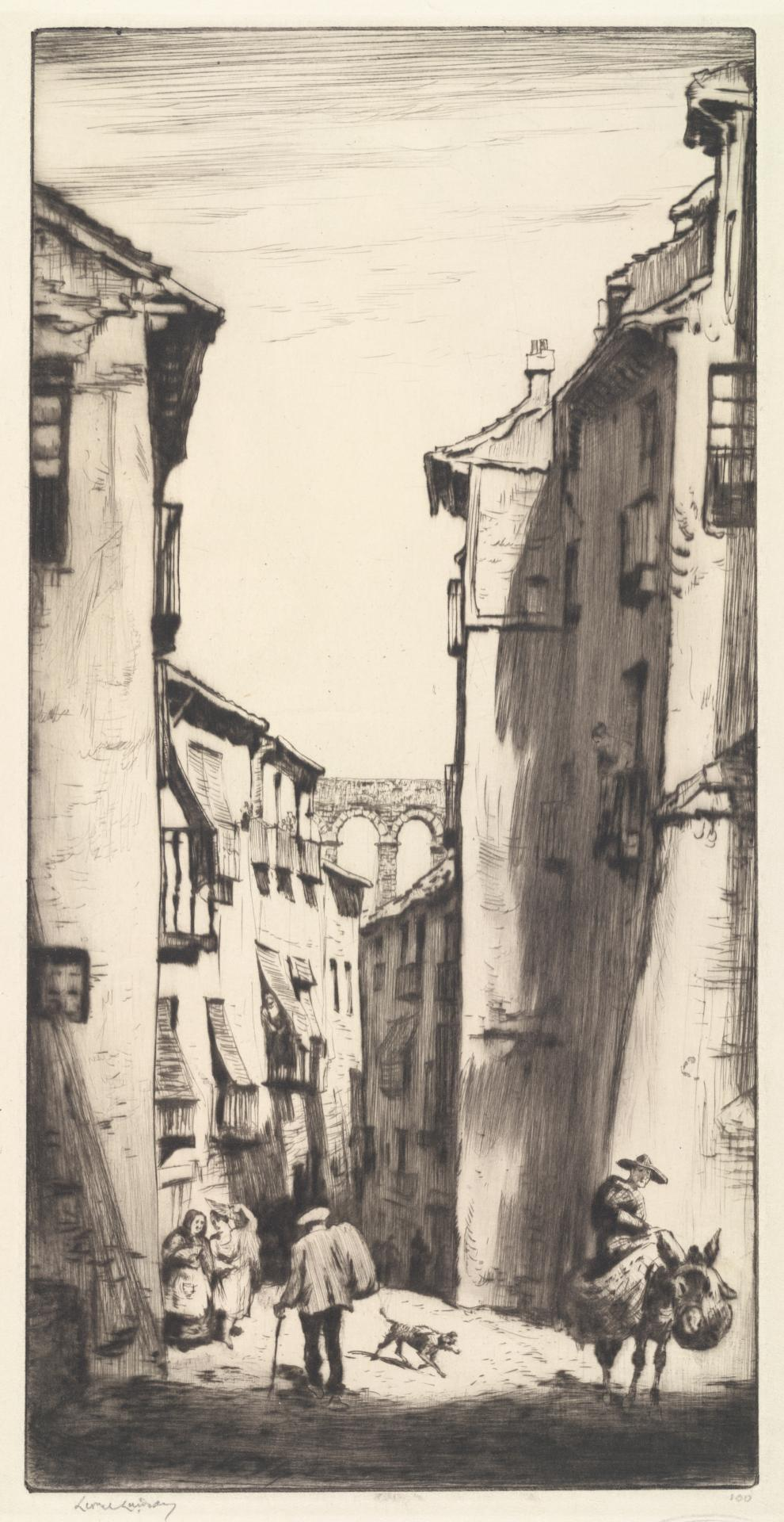 The Street of the Aquaduct, Segovia