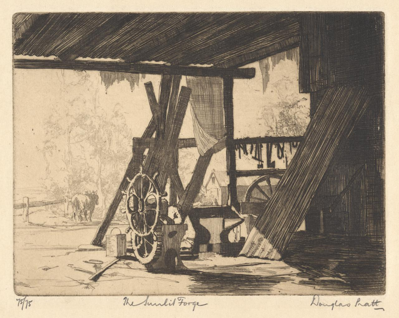The sunlit forge