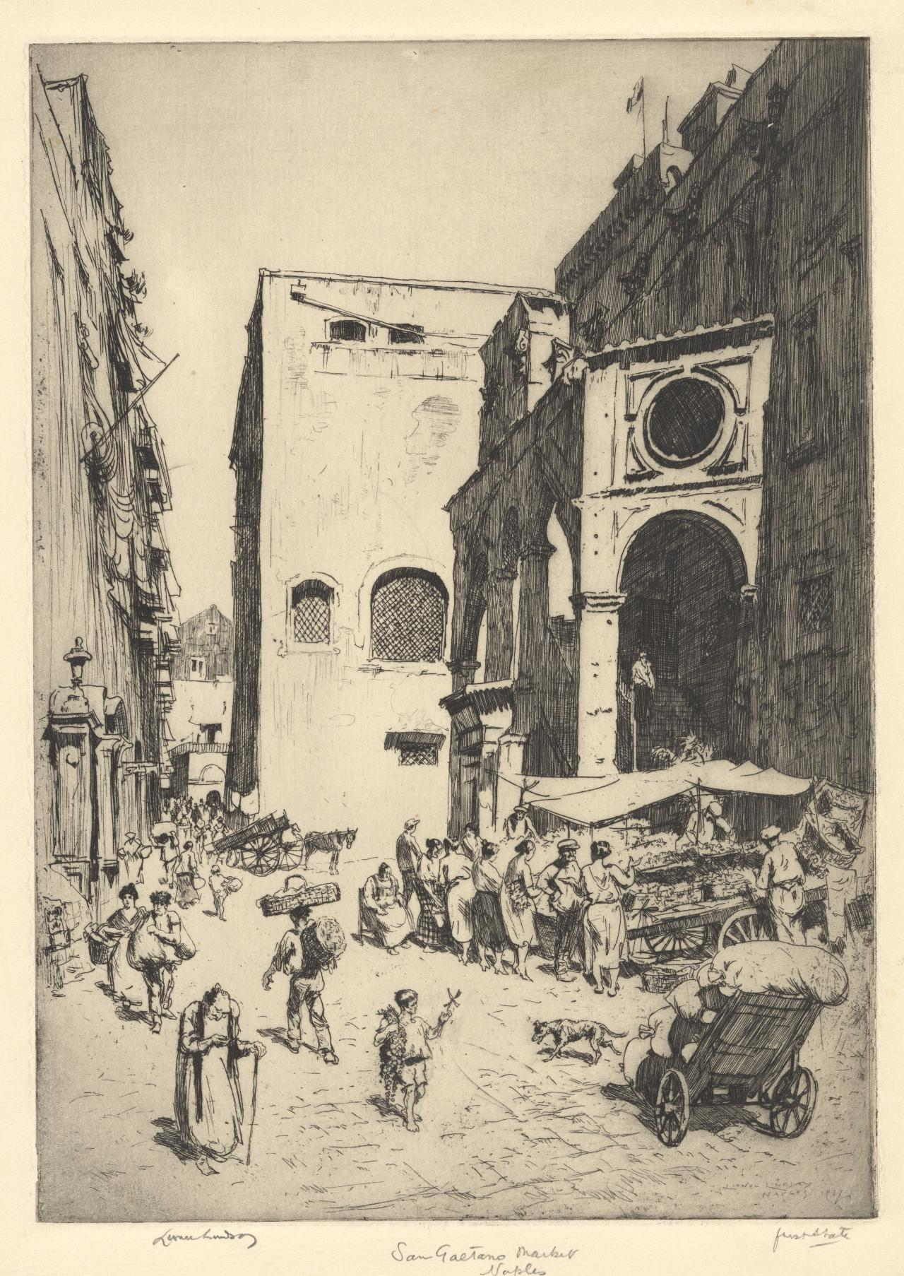 Little market, San Gaetano, Naples