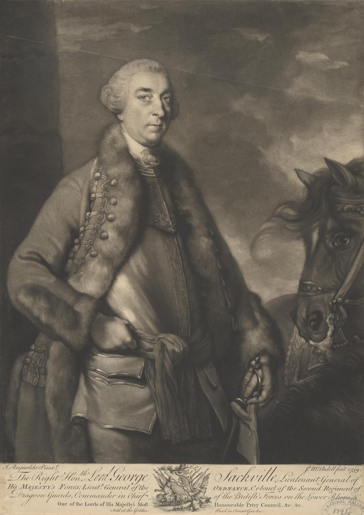 Lord George Sackville