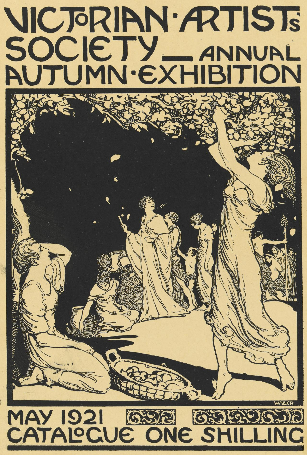 Victorian Artists' Society Annual Autumn Exhibition (catalogue cover)