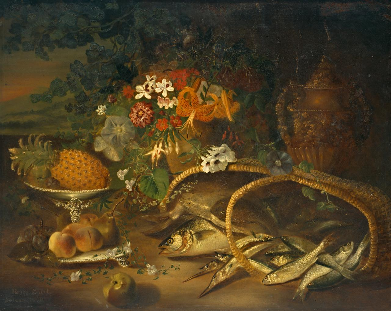 Fish, fruit and flowers