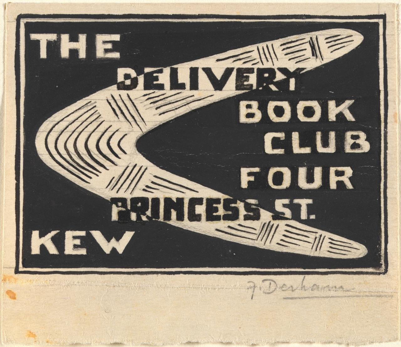 The Delivery Book Club, four Princess Street, Kew