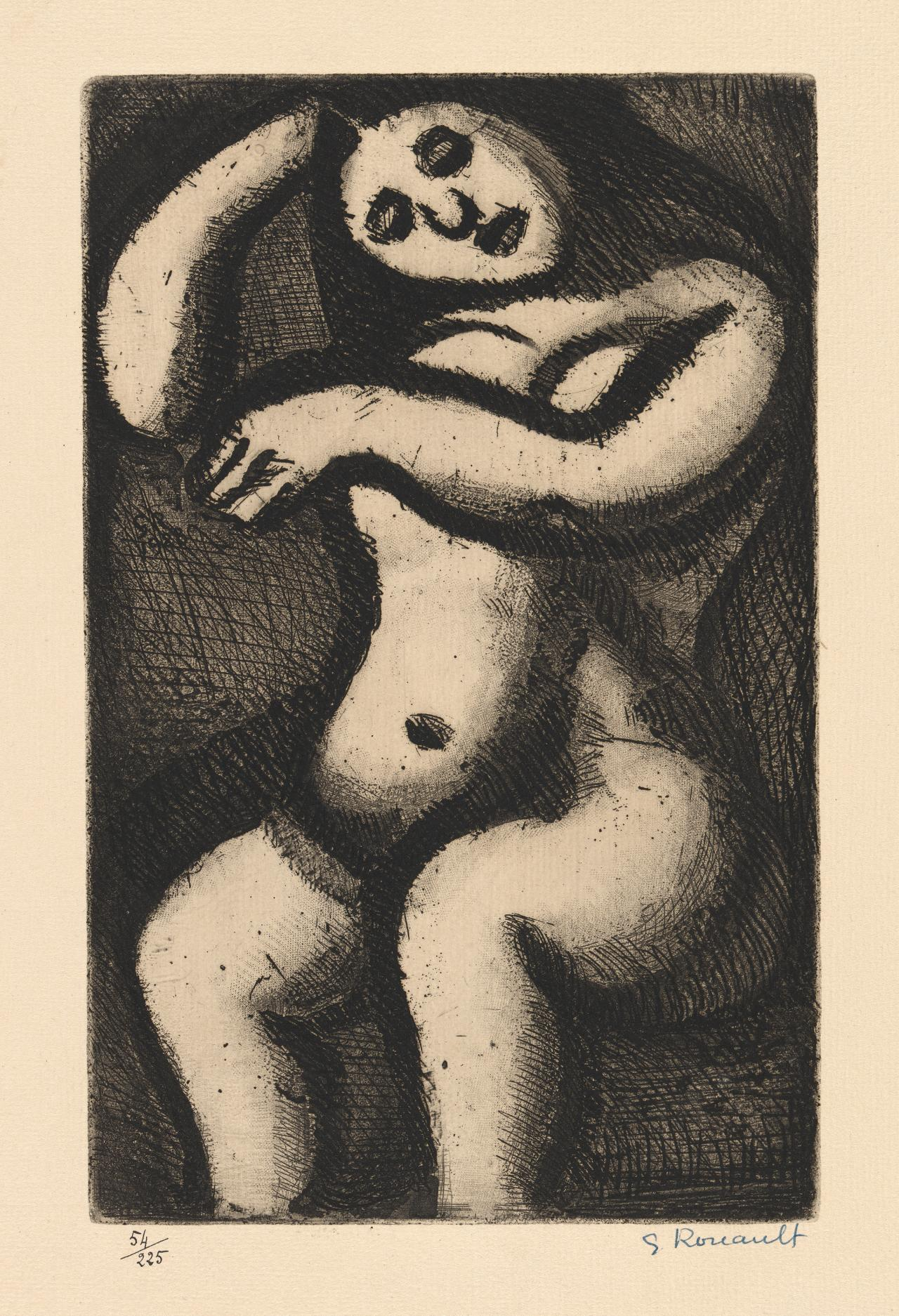 Nu Assis (No.XXI) (Seated Nude)