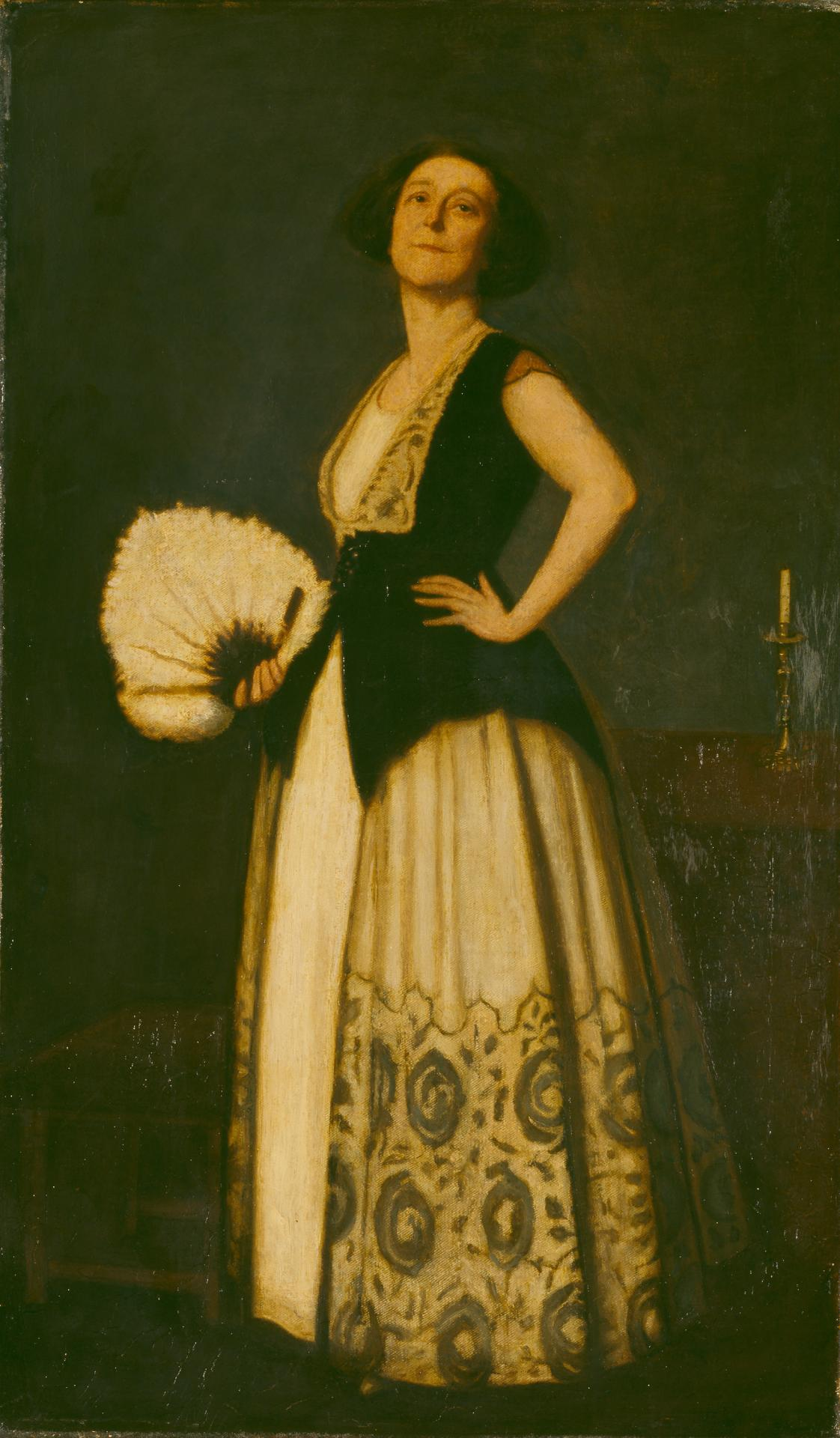 Bess Norris, wife of Nevin Tate