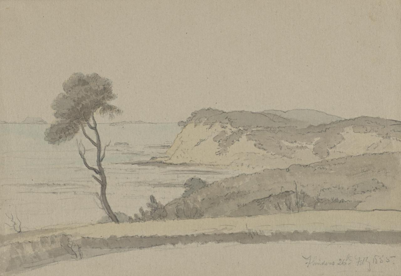 Flinders (View of coastline)