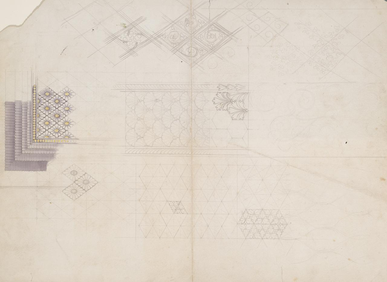 (Sheet of various designs and patterns)