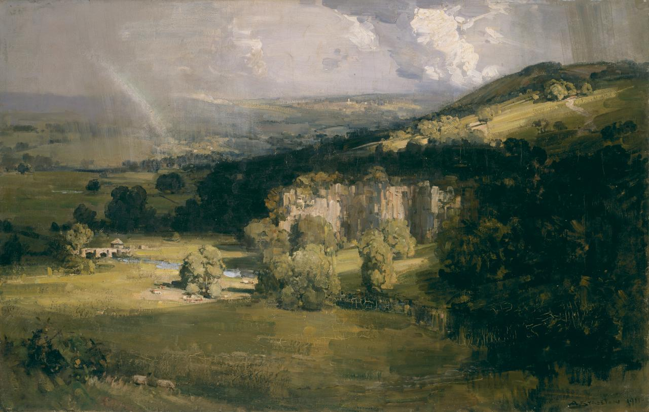 Arkwright's Valley, Derbyshire
