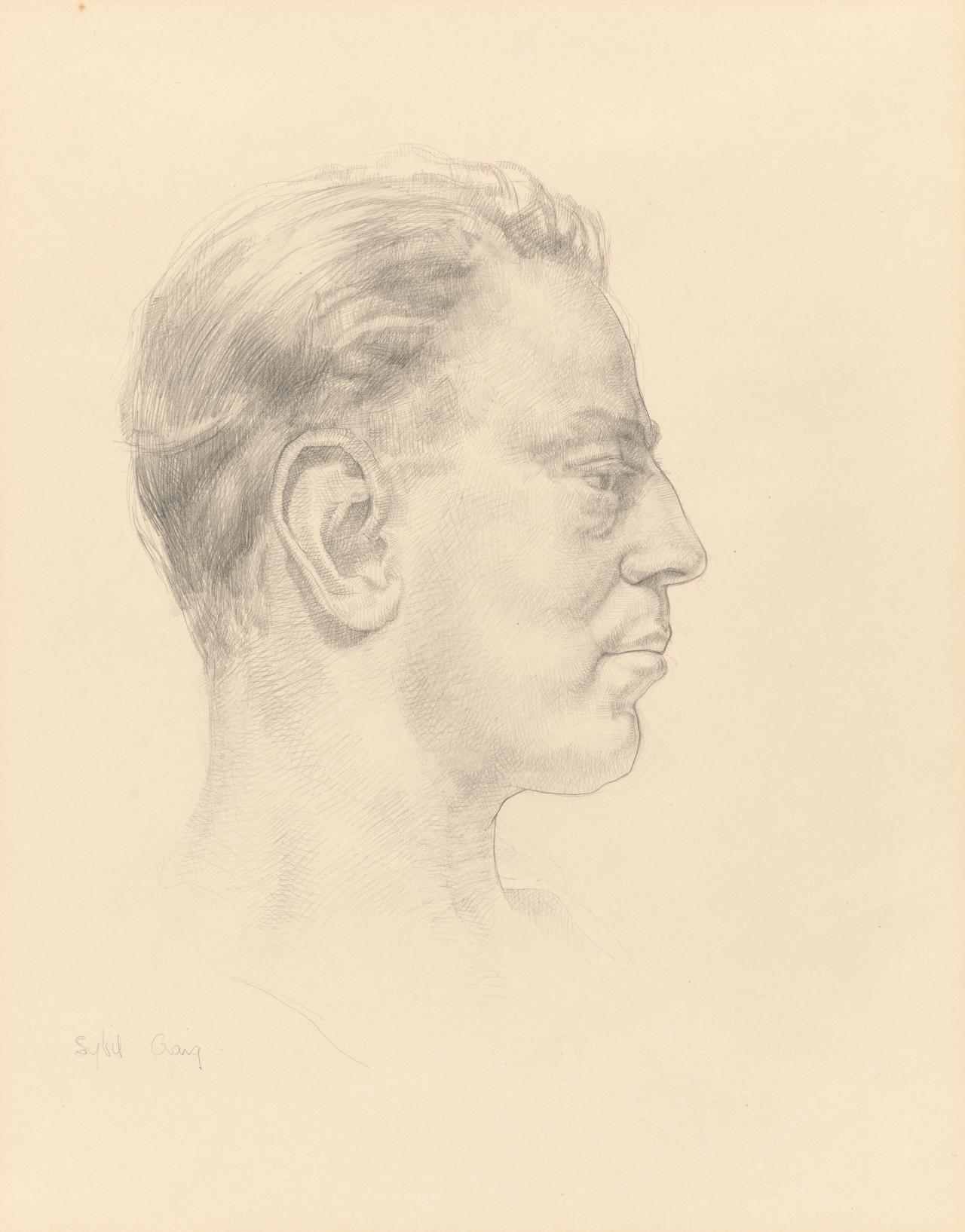 Head of a man (Hal Coulson)