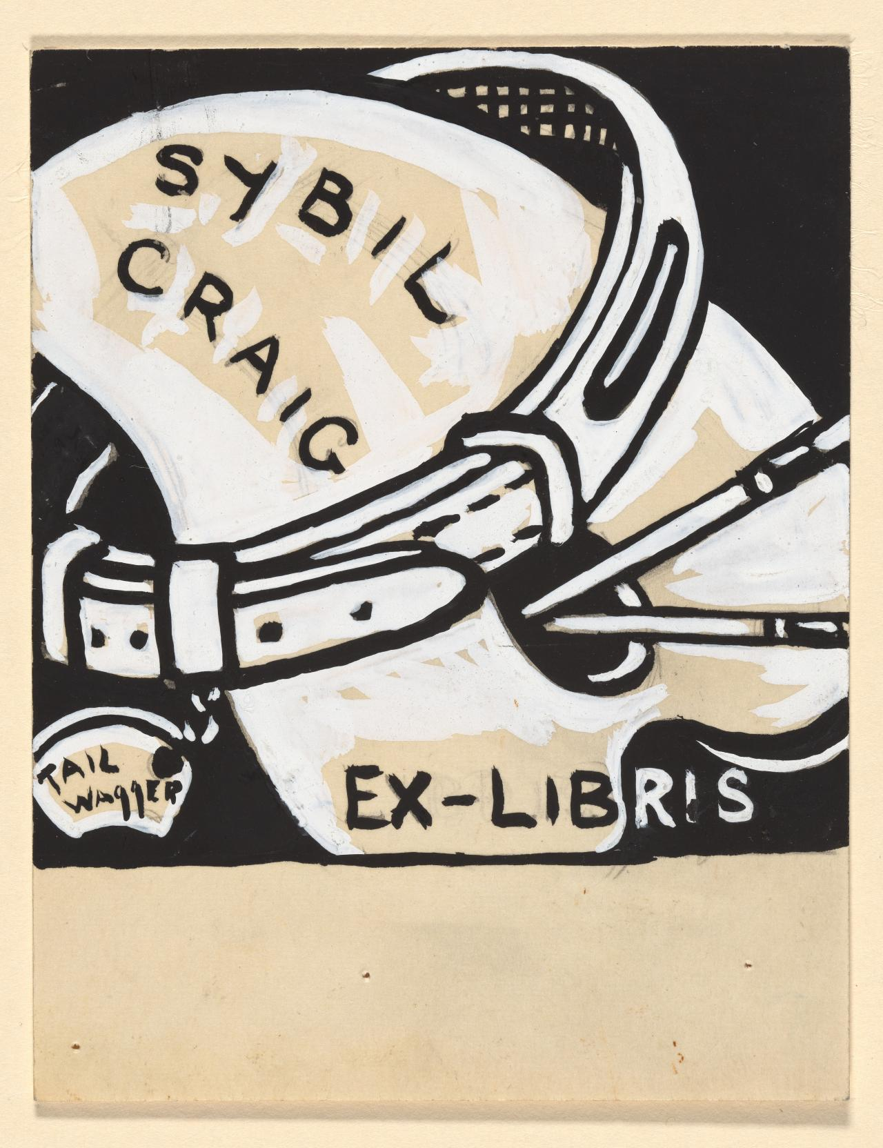 Bookplate design of Sybil Craig