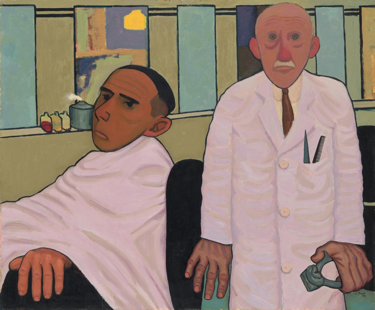 """John Brack The Barber's Shop""的图片搜索结果"