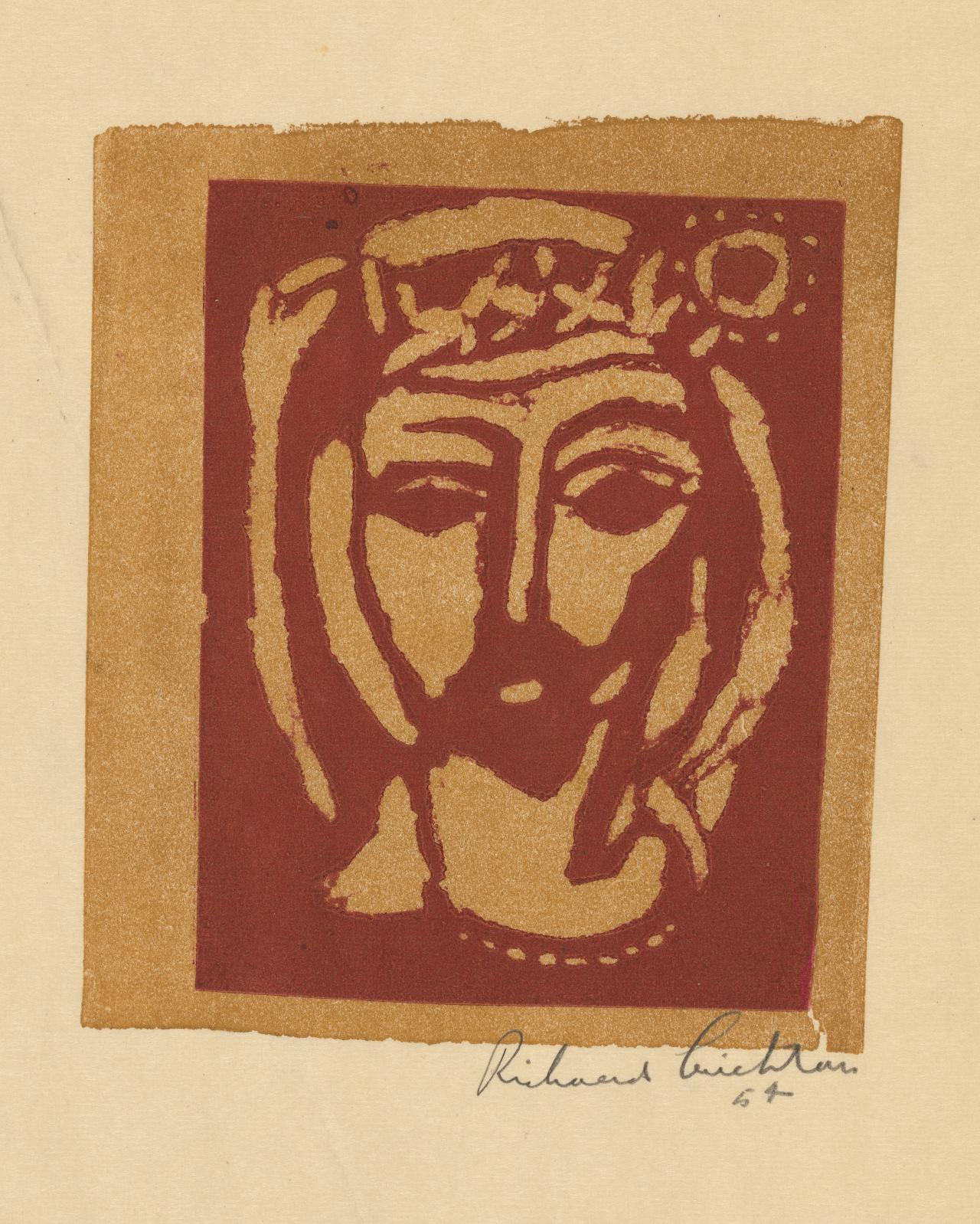 Untitled (Head of Christ)