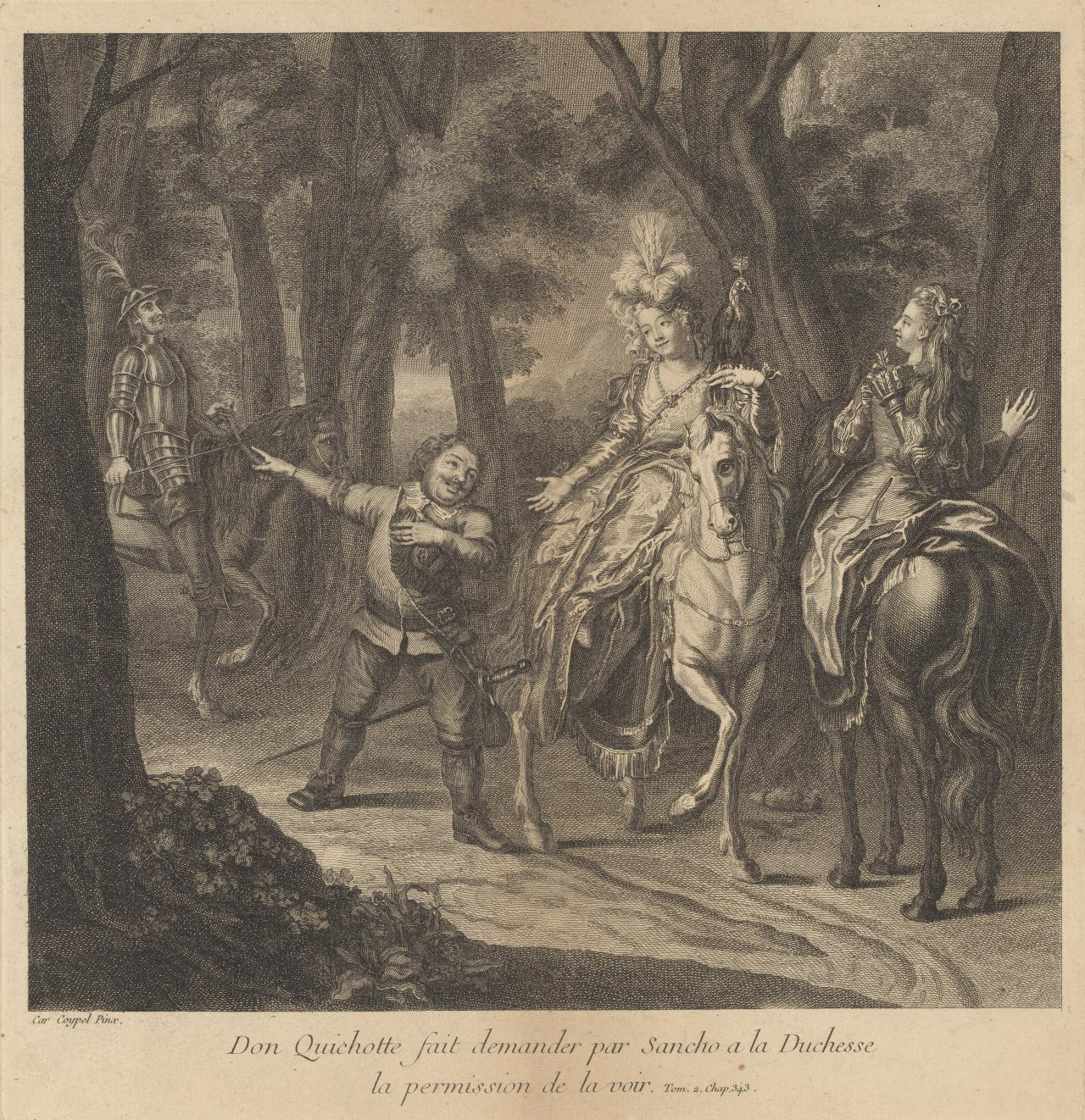 Don Quichotte fait demander...(Don Quichotte 1 of 24 plates)