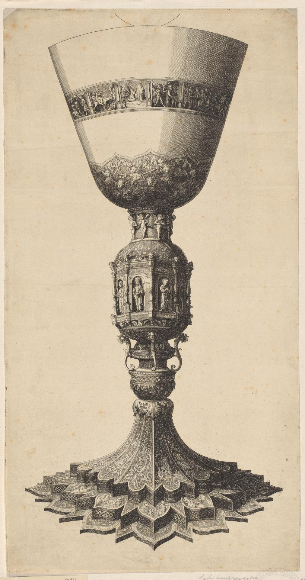 A Chalice, after Mantegna - Chalice, drinking horn, etc.