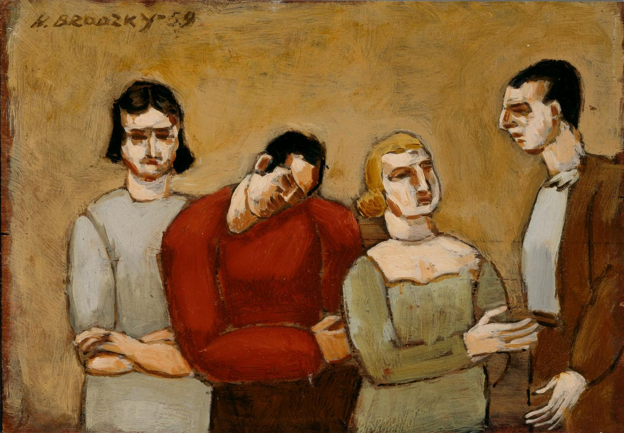 Group of four figures