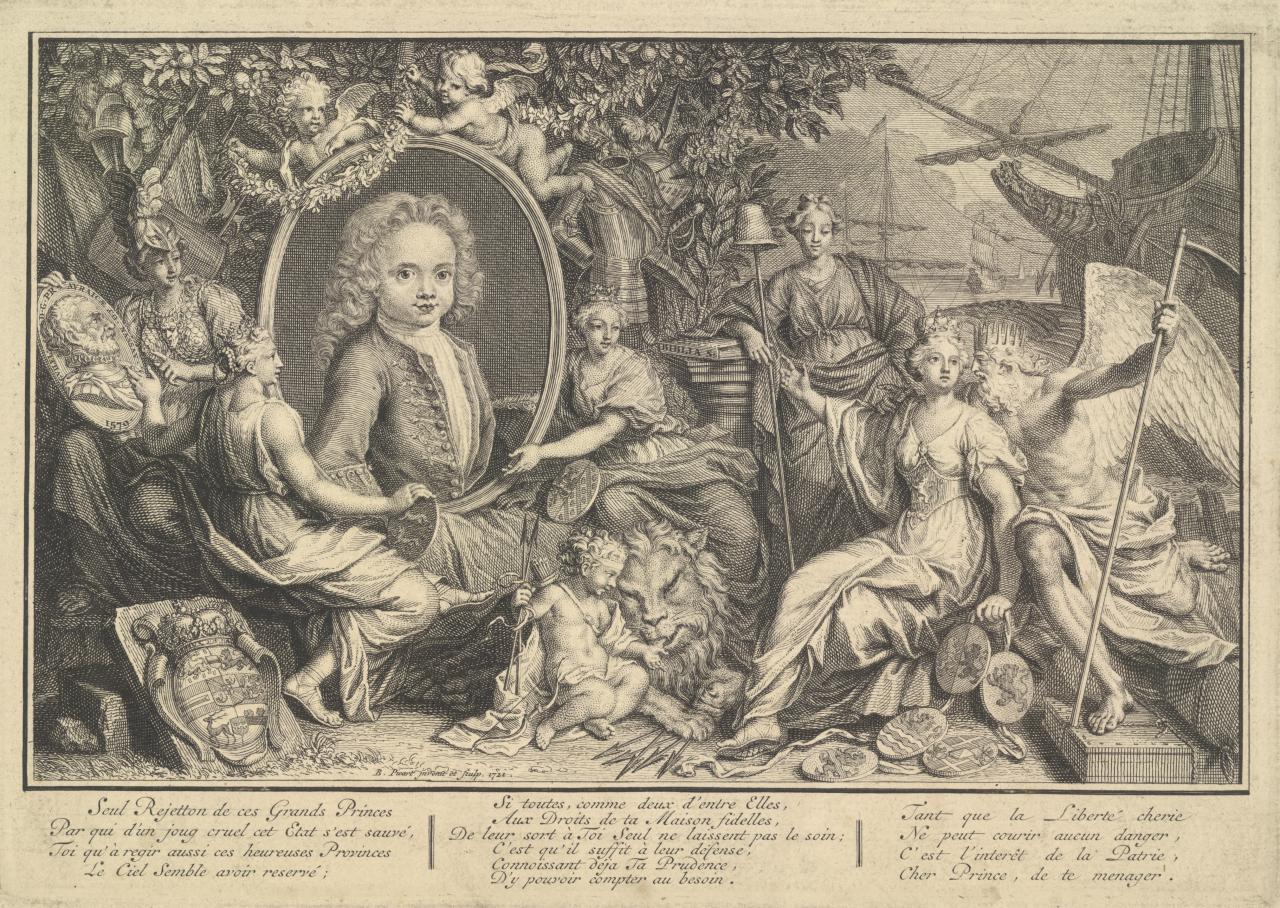 Prince of Orange,with Mythological Figures