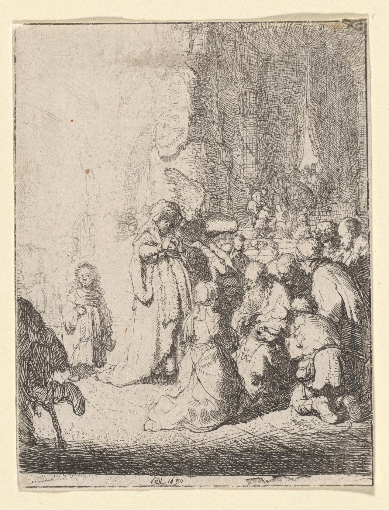 The Presentation in the Temple (With the Angel)