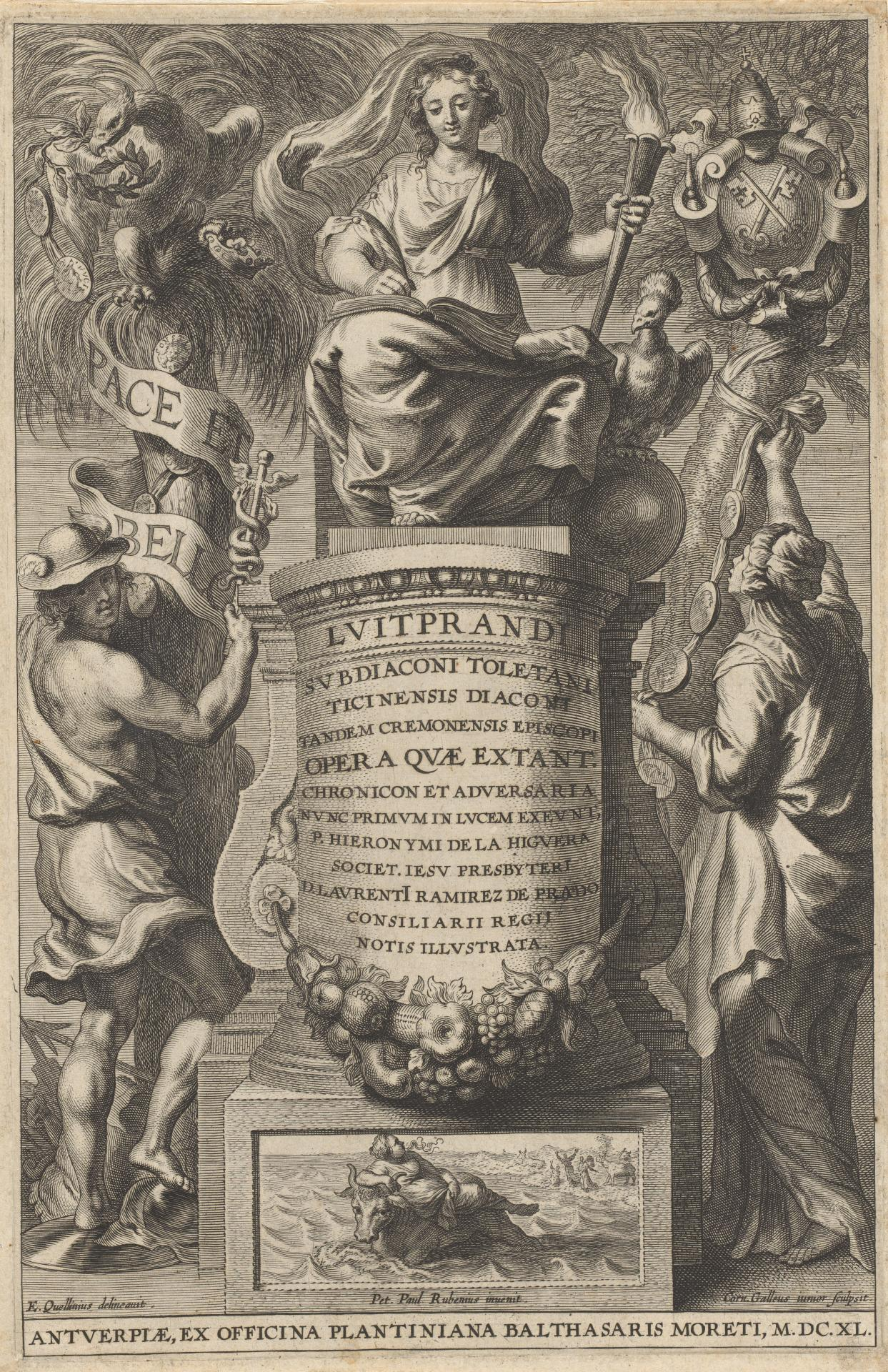 Frontispiece to the works of Bishop Liutprand of Cremona