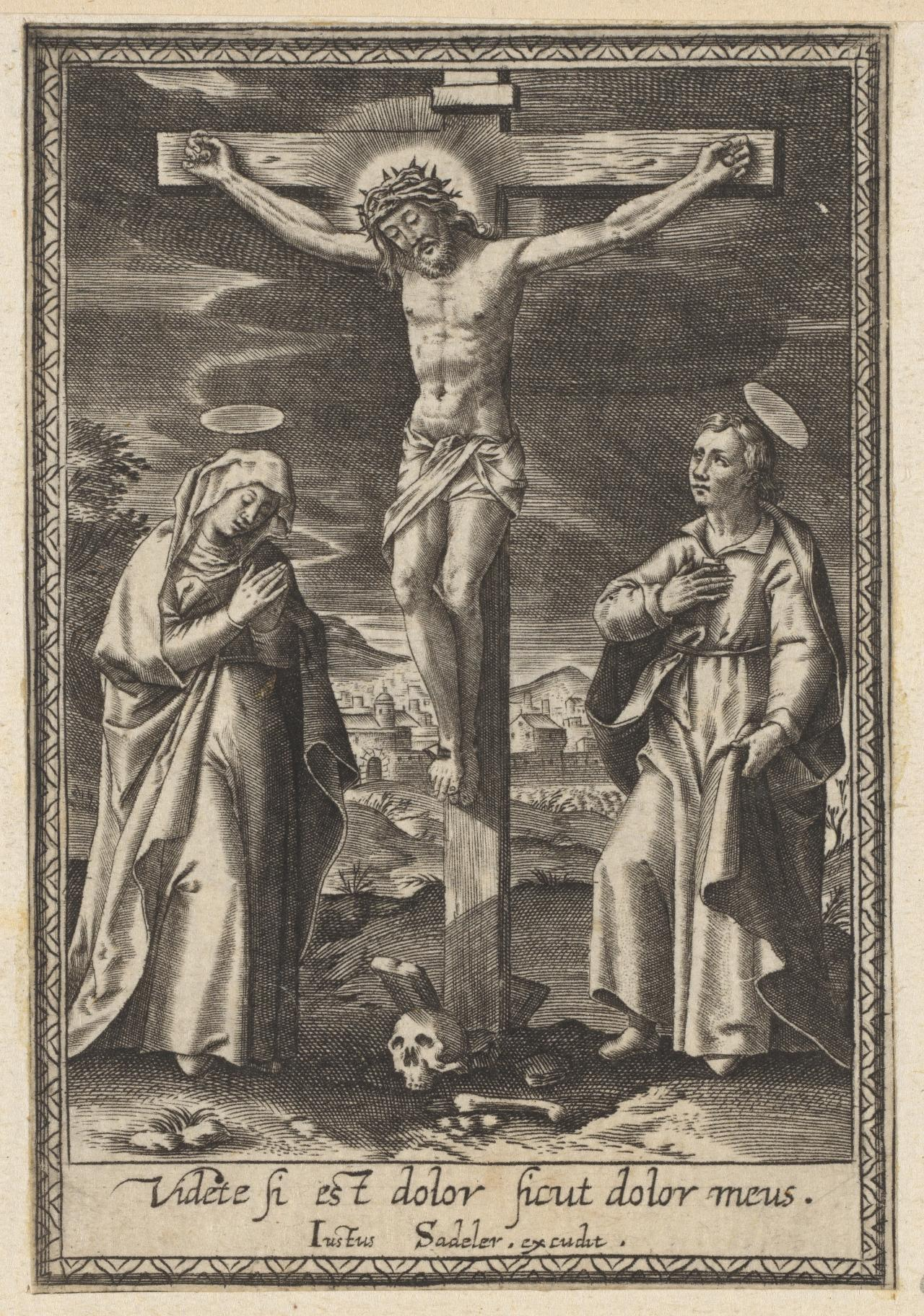The Crucifixion with the Virgin and Saint John