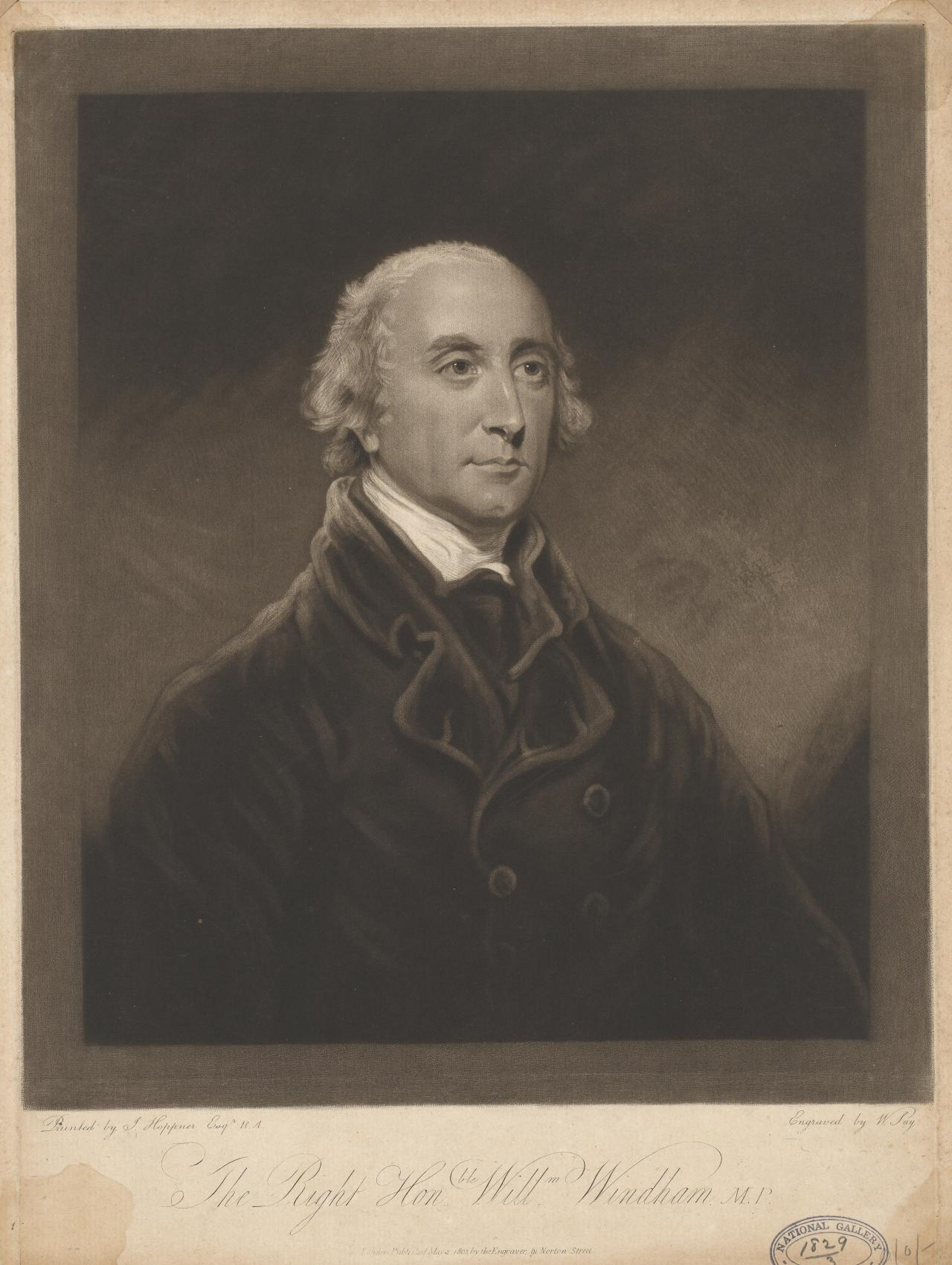 The Rt Hon William Windham