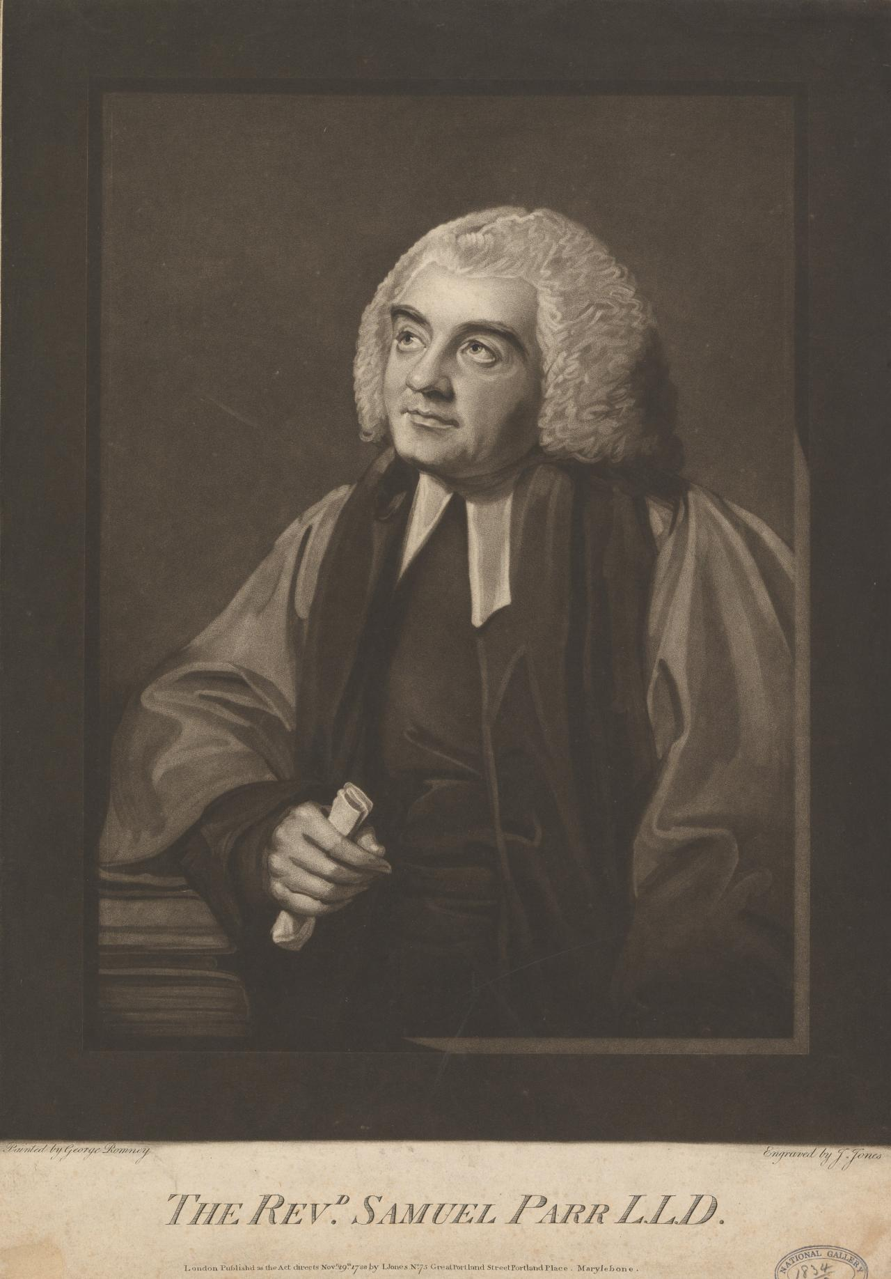 The Rev Samuel Parr
