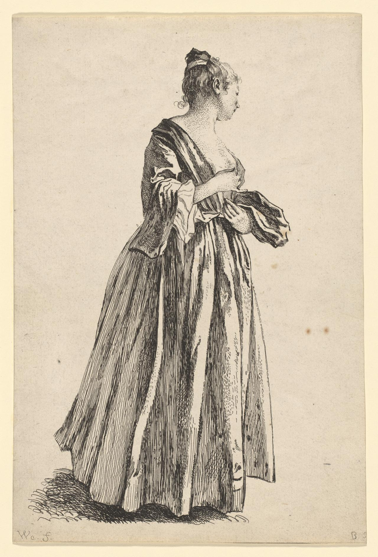 Lady Standing