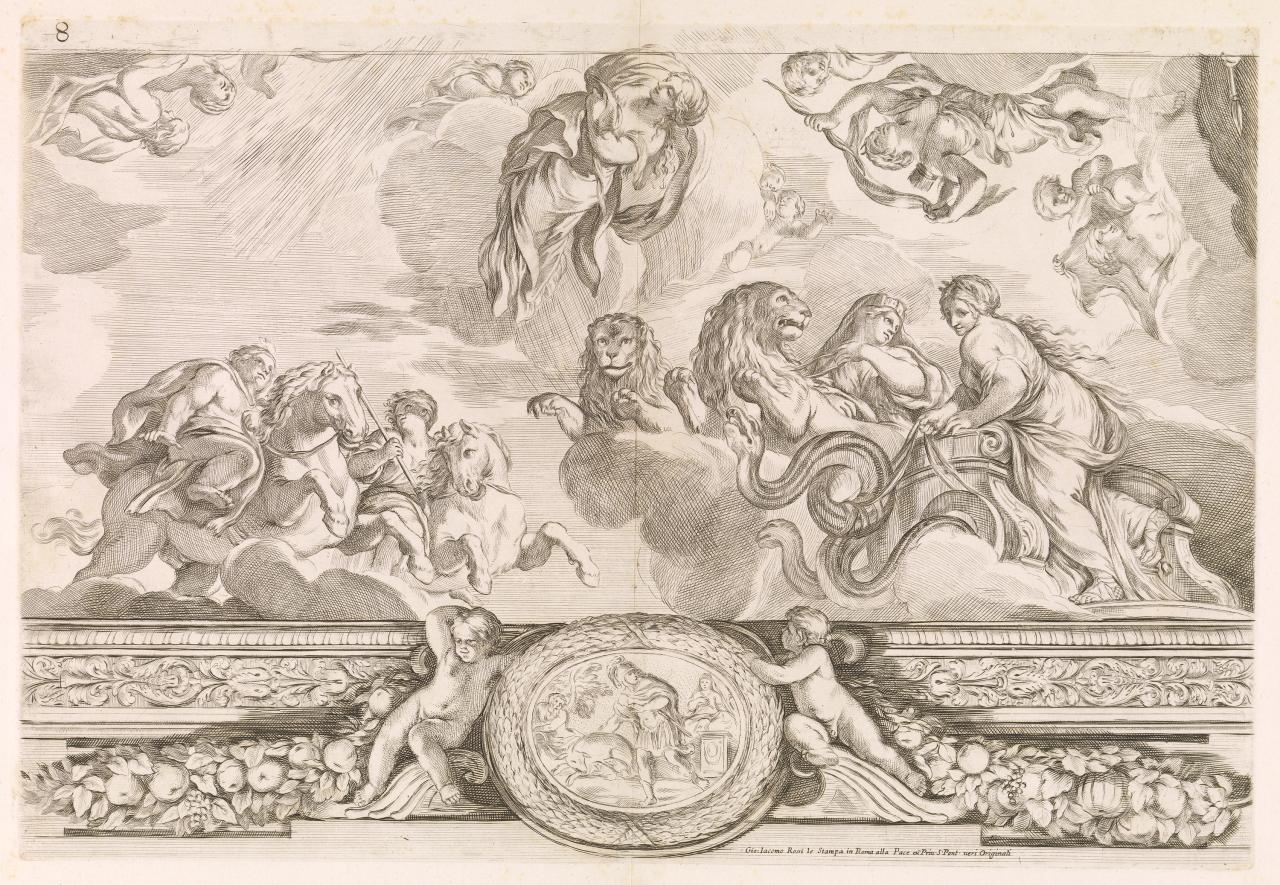 Castor and Pollux, Cybele and Ceres