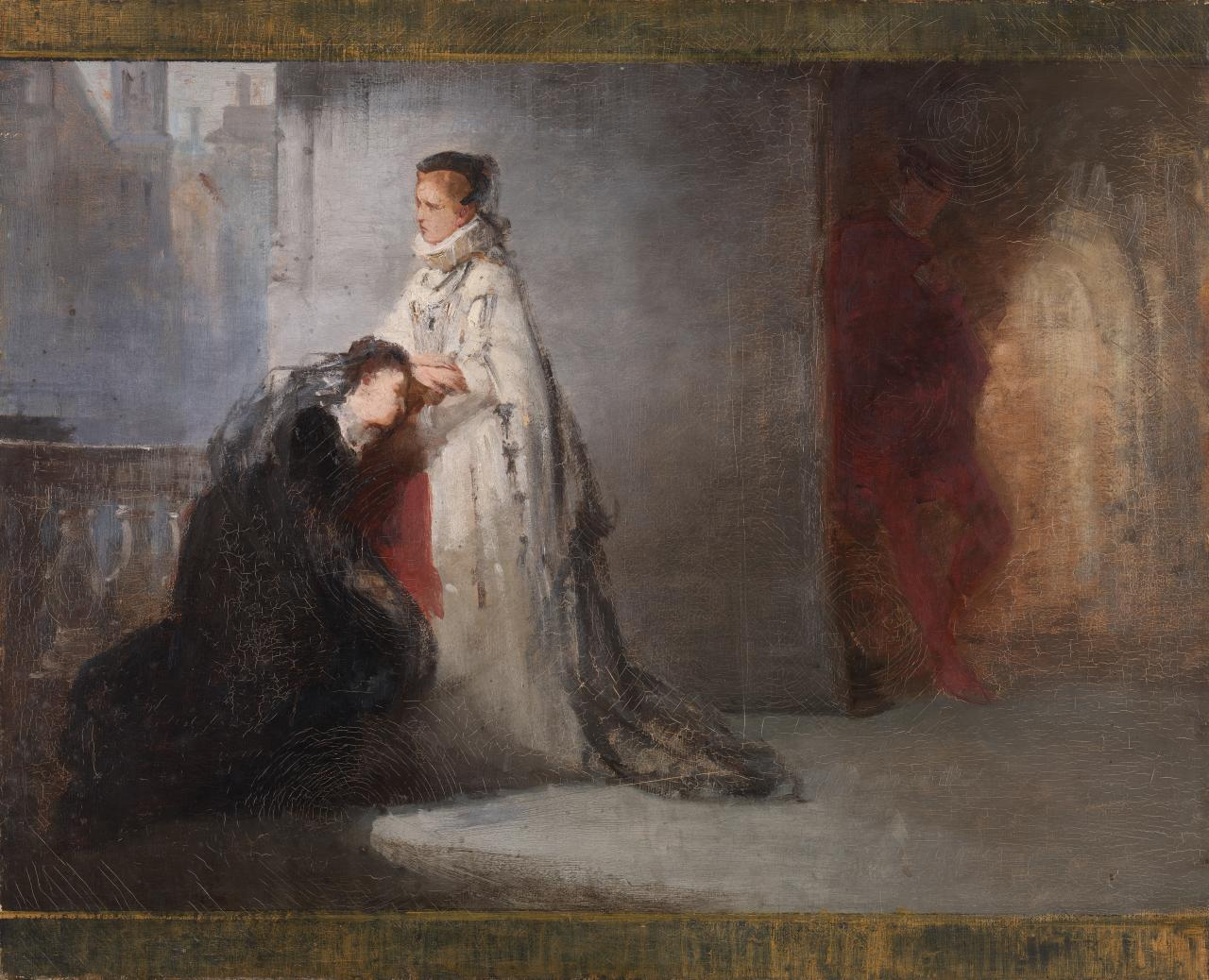 Study for picture of Mary Queen of Scots
