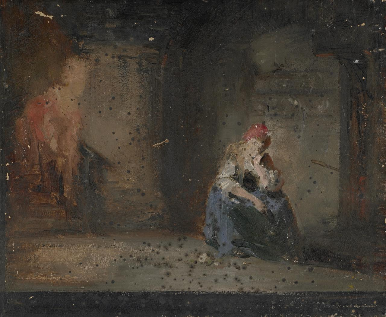 Study: Lady Jane Grey in prison