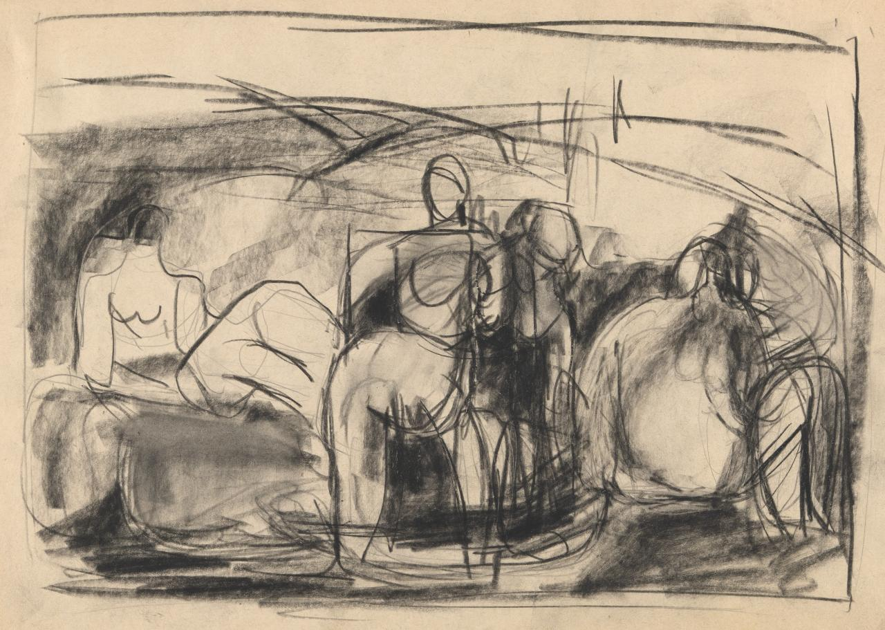 Untitled (Figure composition)