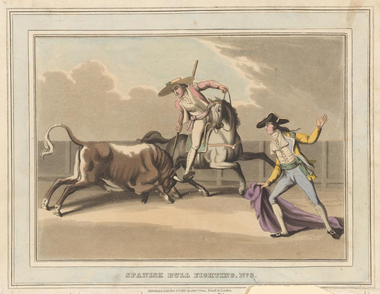 Charge made by the bull