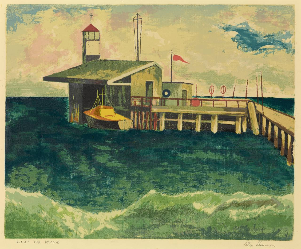 R.A.A.F. pier, Point Cook