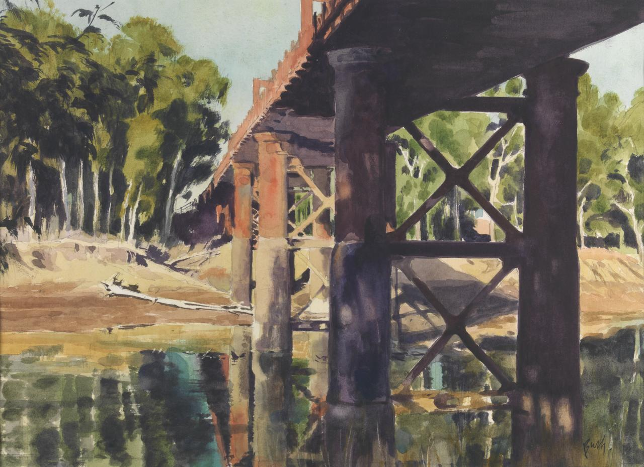 Bridge over the Murray, Echuca